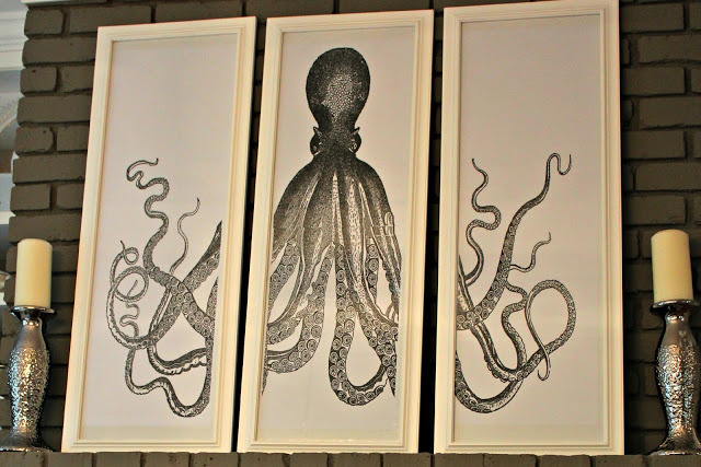 octopus triptych