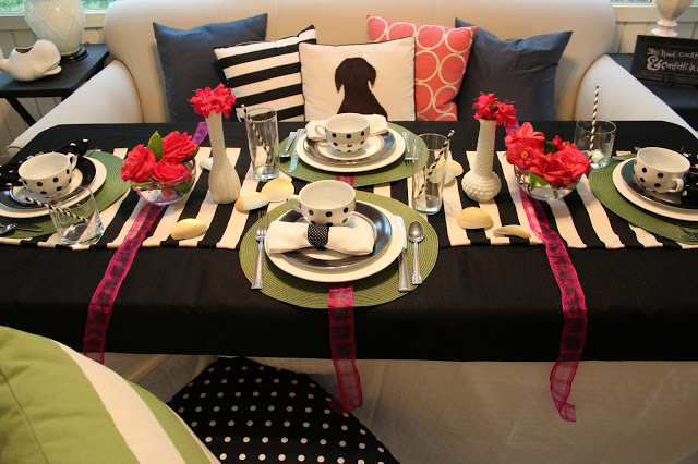 kate spade inspired table