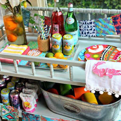 {Lilly Pulitzer Style Soiree} Make Every Hour a Happy Hour!