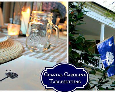 Lowcountry Inspired: Coastal Carolina Table Setting