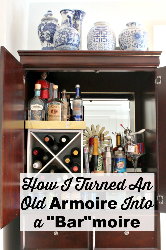 Armoire turned Barmoire