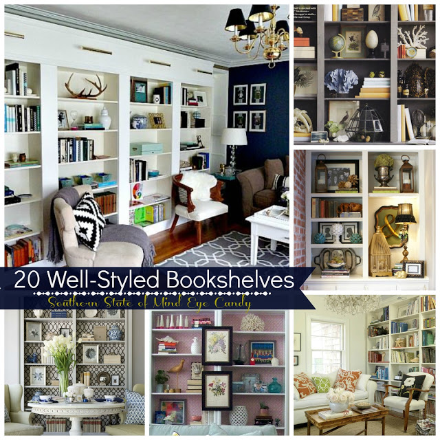 Eye Candy: 20 Well-Styled Bookshelves