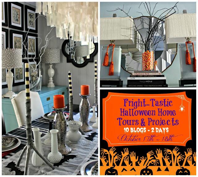 {Halloween Home} Enter If You Dare!