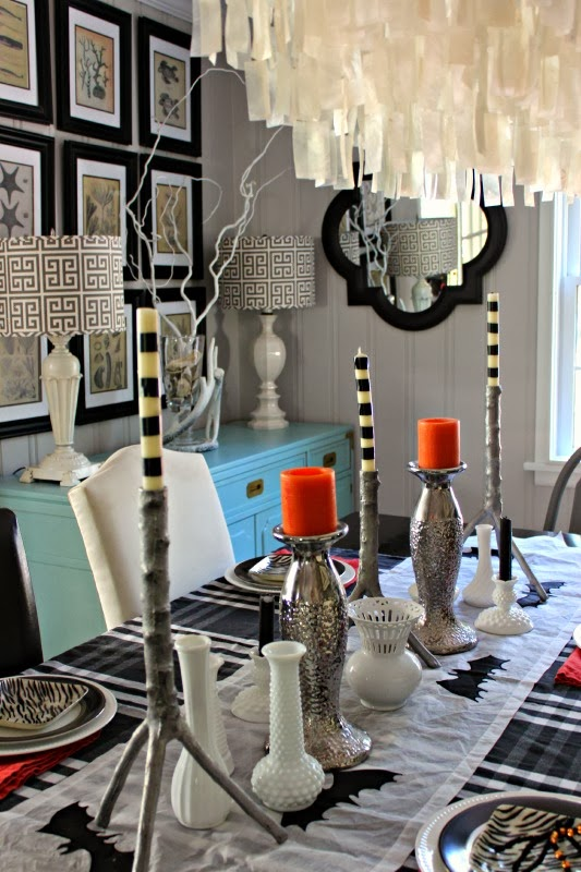 {Halloween Home} In the Twilight Zone Tablescape