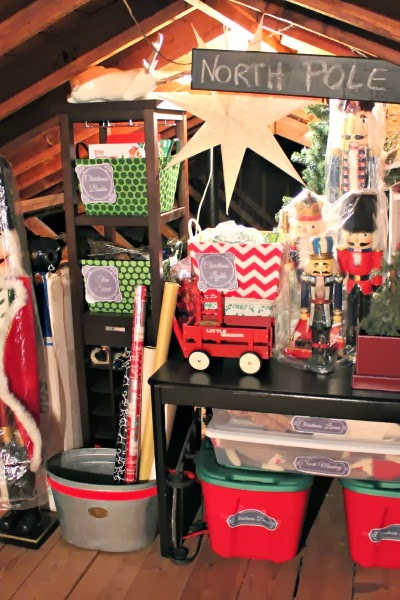 Christmas Storage Organization