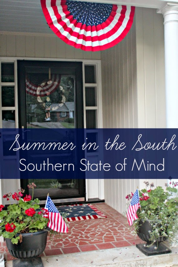 Summer in the South- Fourth of July Decor