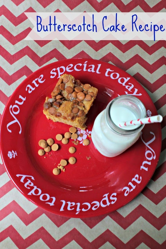 Butterscotch Pudding Cake Recipe