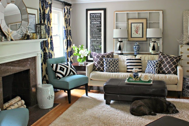 Family Living Room Design Ideas That Will Keep Everyone Happy: My Go-To Gray Paint Color: Repose Gray