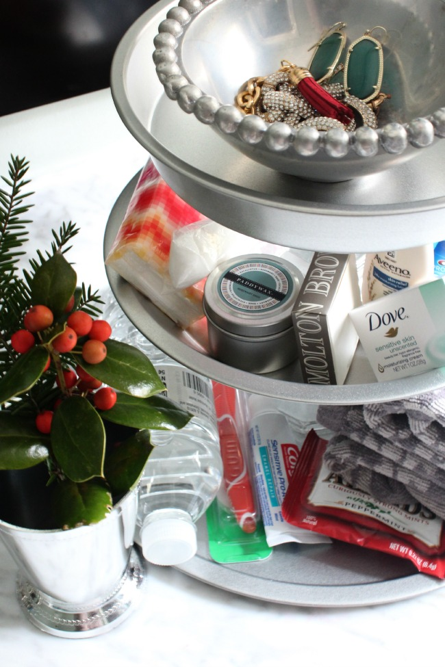 Christmas-Bathroom-Tiered-Tray