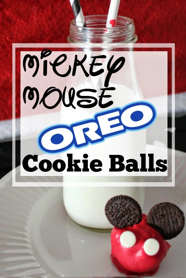 Mickey OREO Cookie Balls & Holiday Party