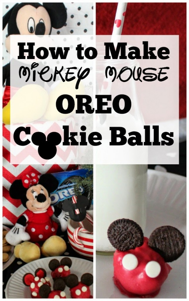 How to Make Mickey Mouse Oreo Cookie Balls