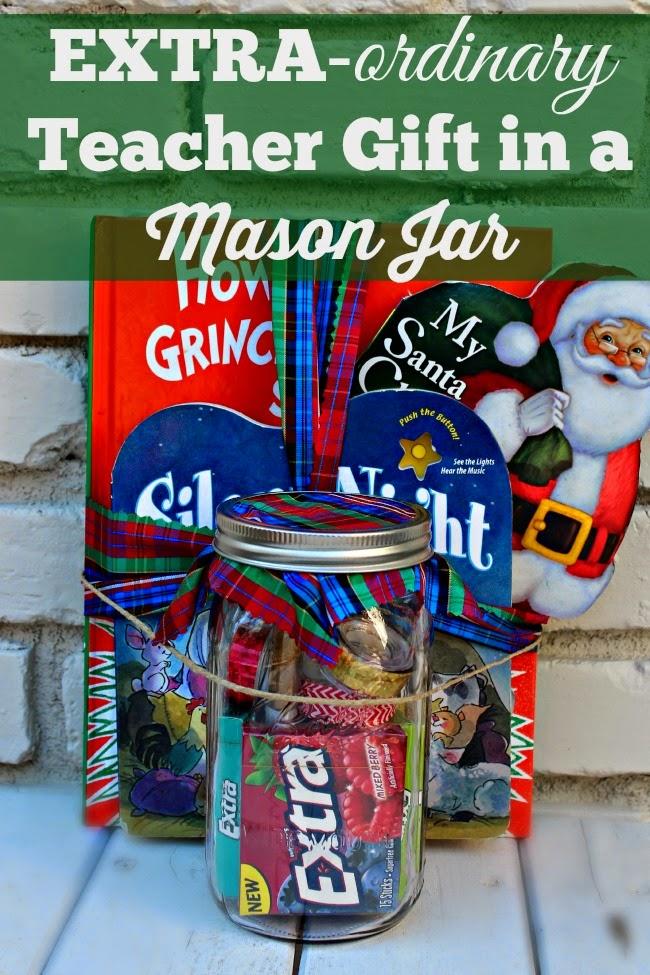 teacher gift mason jar