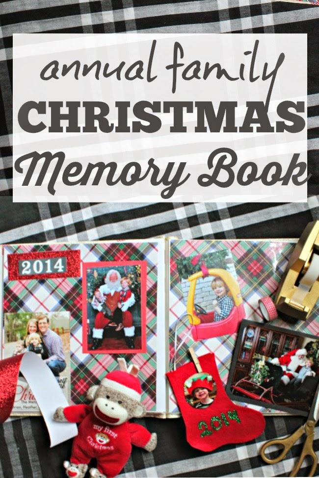 Annual Family Christmas Memory Book