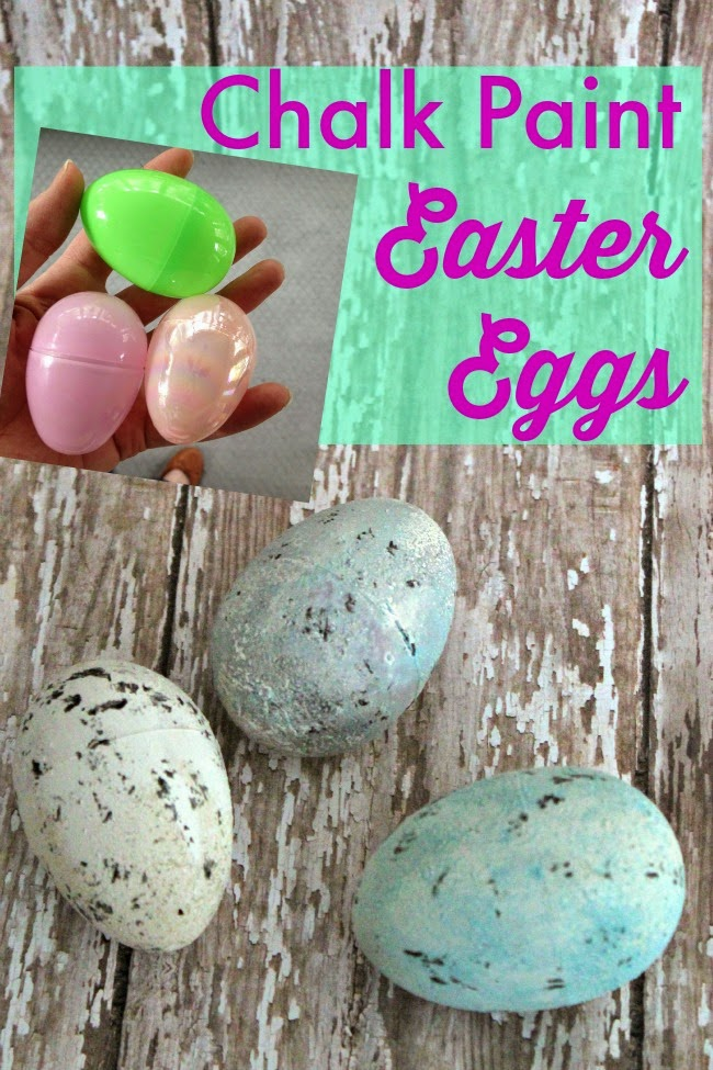 Chalk Paint Easter Eggs Craft