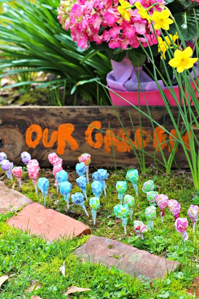 Magic Jelly Bean & Dum Dum Lollipop Garden