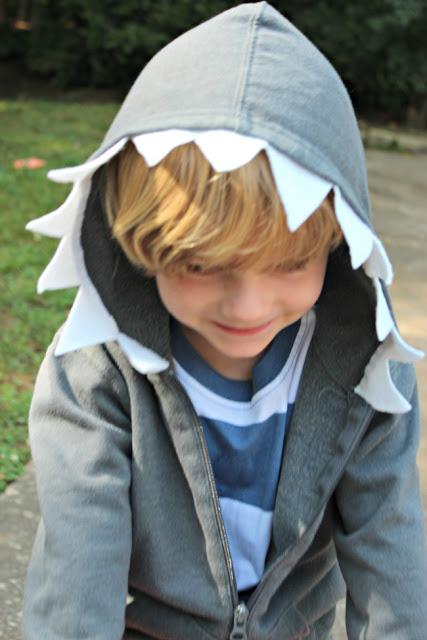 DIY Shark Hoodie Tutorial