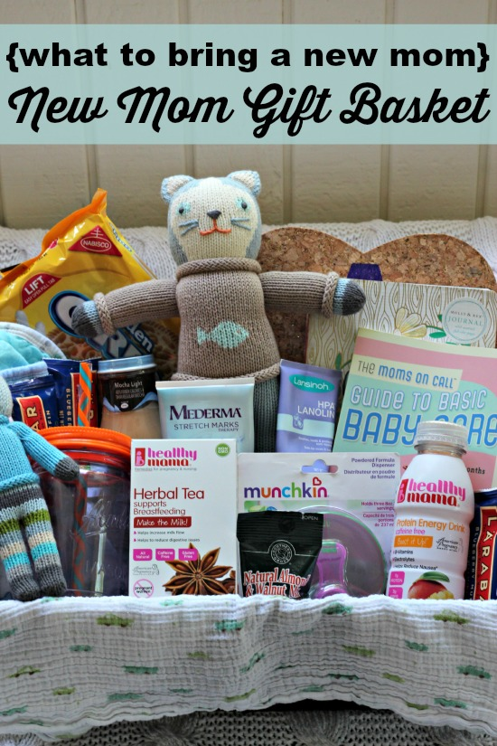 {what to bring a new mom} New Mom Gift Basket - Southern ...