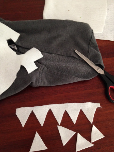kids shark halloween costume