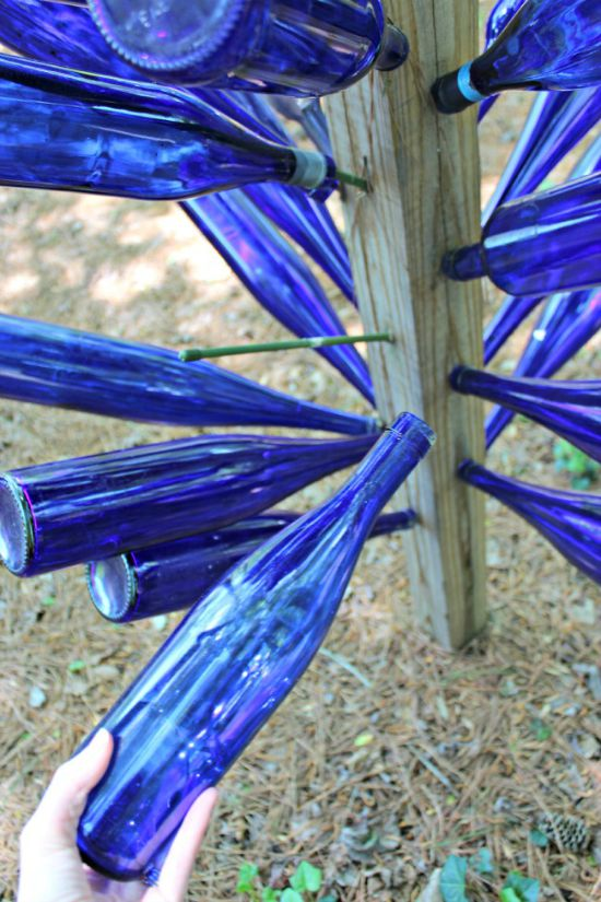 How to Make a Bottle Tree