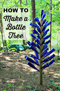 bottle tree garden bottle art