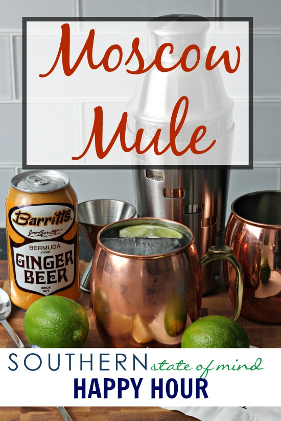 -Southern State of Mind Happy Hour- Moscow Mule