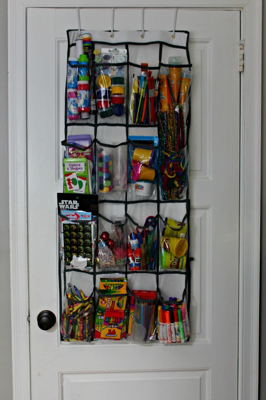 craft and school supplies organization