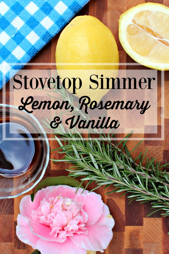 Stove Top Air Freshener Simmer Rosemary Lemon Vanilla