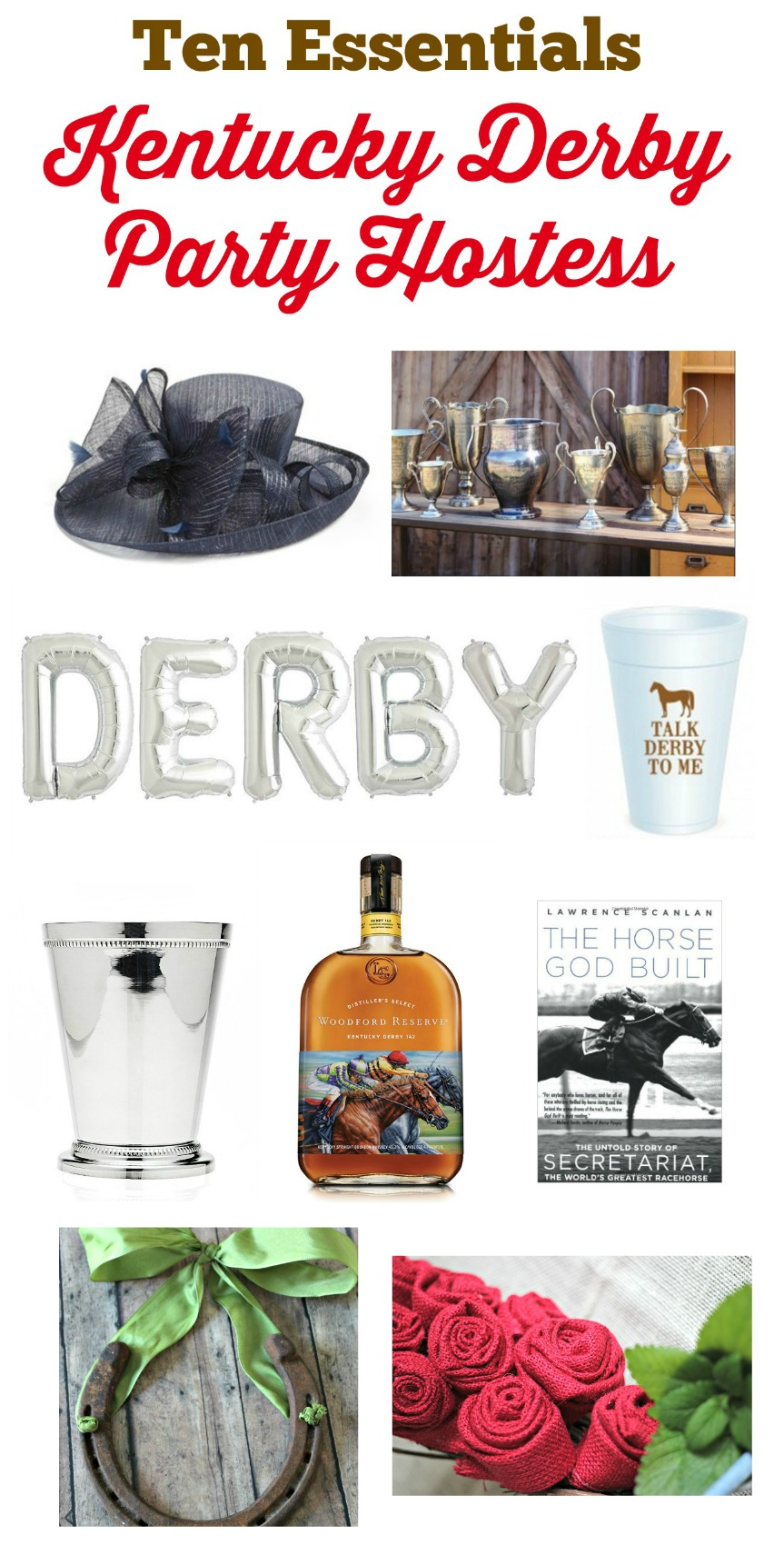 kentucky derby party goods