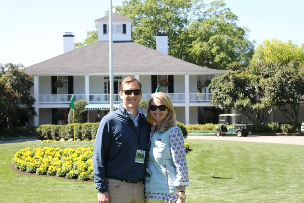 A Day at the Masters Golf Tournament
