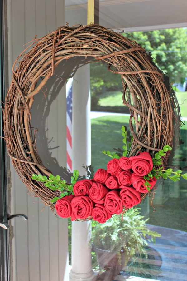 Kentucky Derby Decorations Rose Wreath