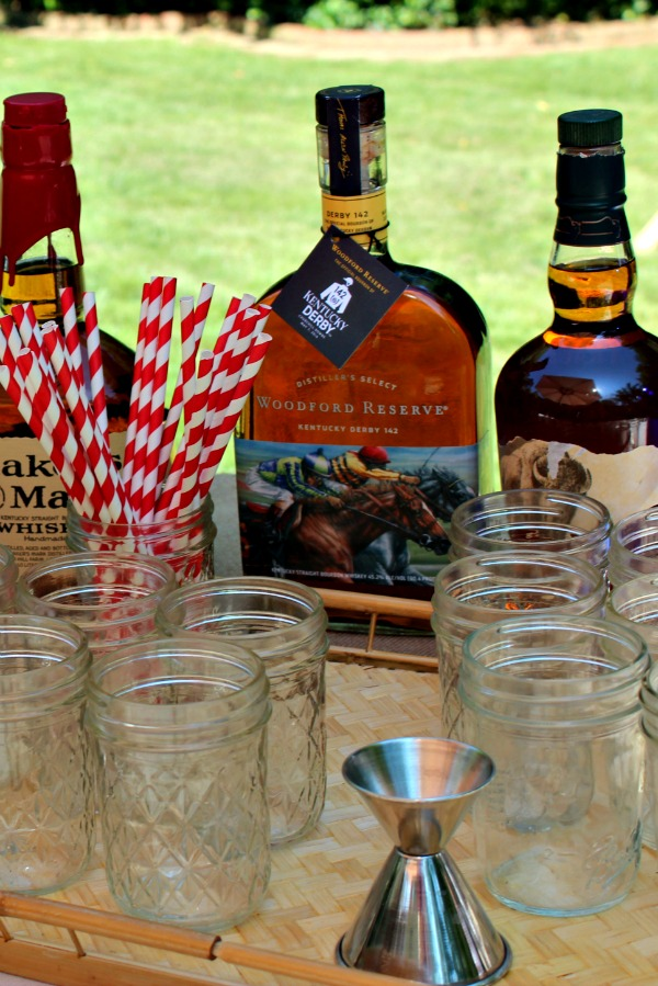 Kentucky Derby Bourbon Bar