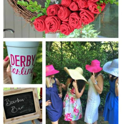 Kentucky Derby Party Decor Details