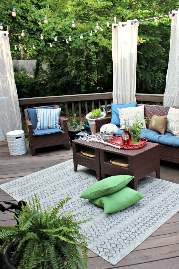 southern back porch makeover