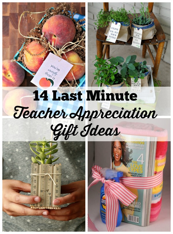 End of School Teacher Appreciation Gifts
