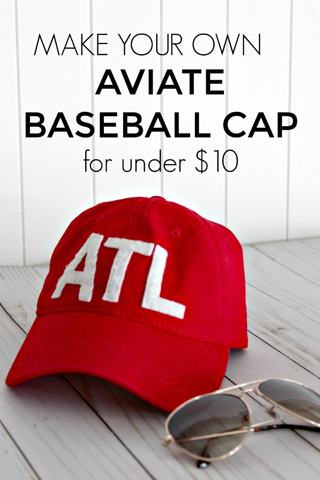 DIY Aviate Baseball Cap