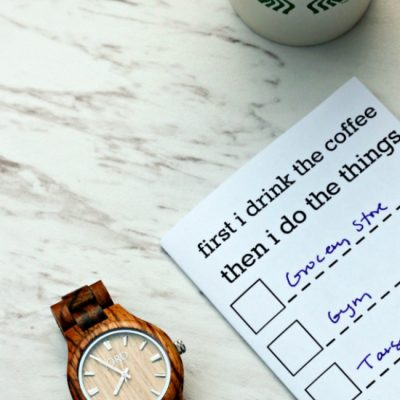 Fall Routines I am Trying (and a Wood Watch Giveaway!)