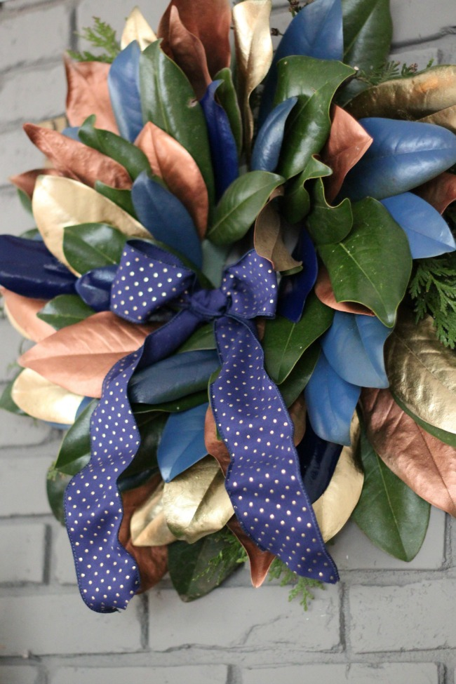 magnolia-wreath-metallic