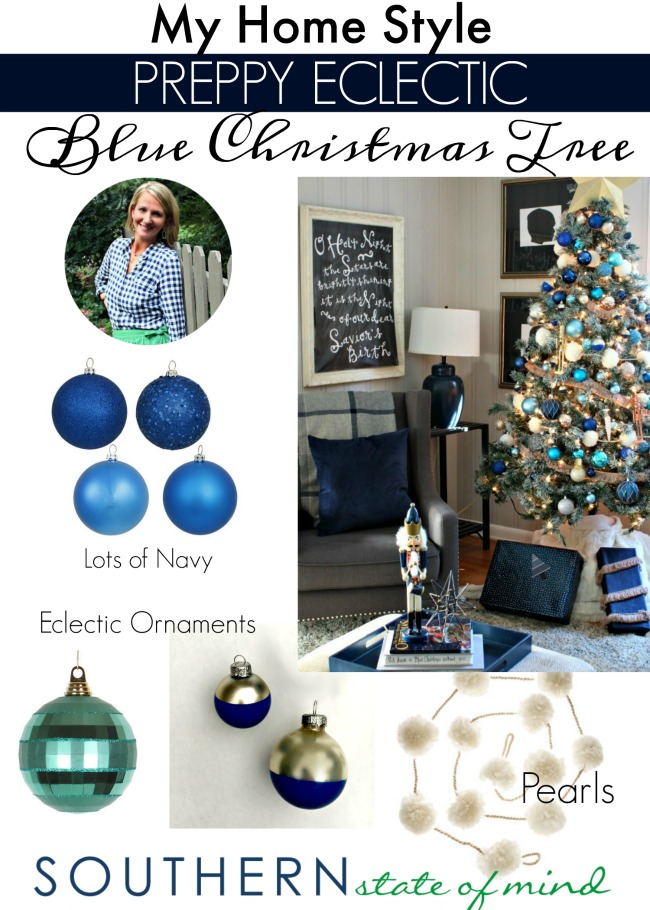 preppy-eclectic-christmas-tree