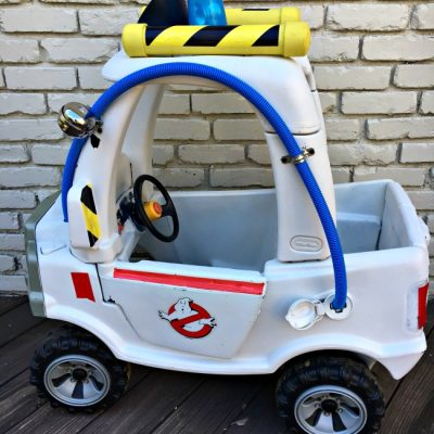 {DIY} Truck Cozy Coupe Makeover