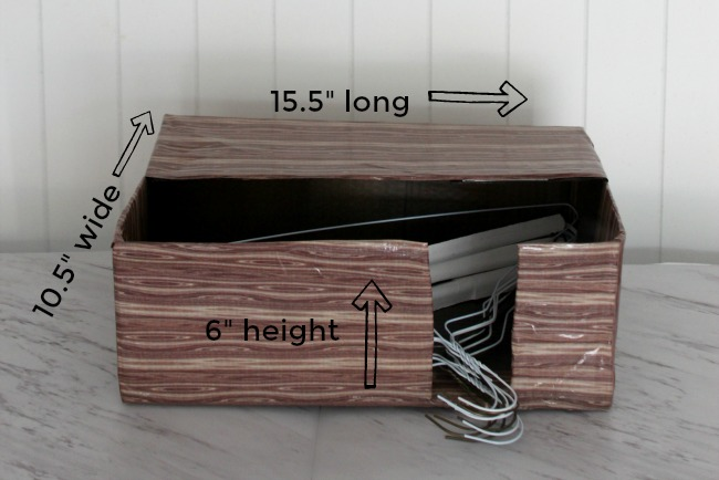 hanger hamper measurements