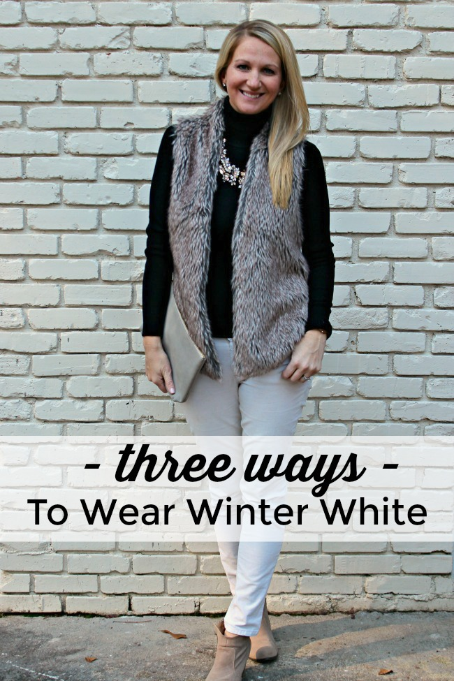 How To Wear Winter White