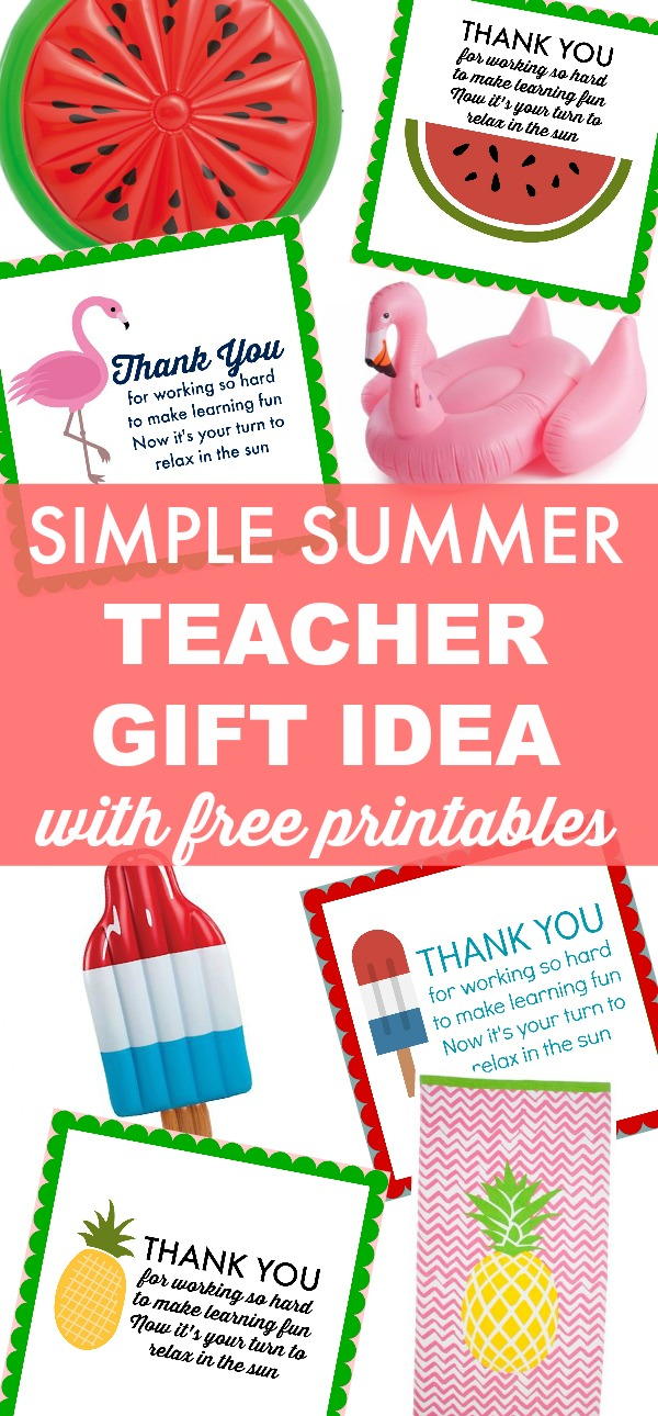 Simple teacher appreciation gift idea perfect for last minute teacher appreciation gift idea negle Image collections