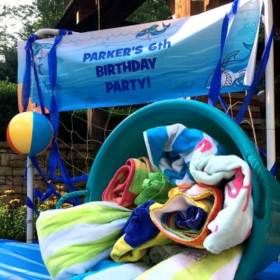 A JAWsome Backyard Beach Birthday Bash