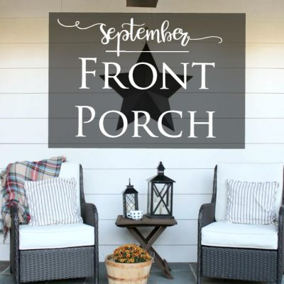 September Front Porch