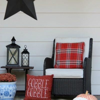 November Front Porch