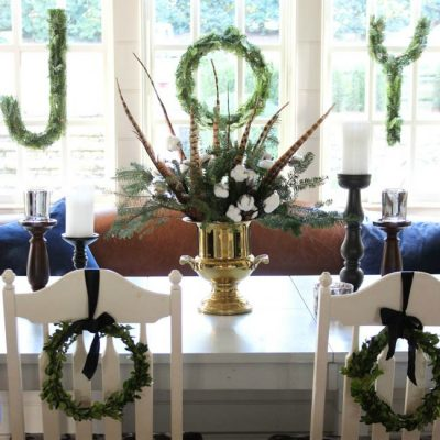 {Christmas Tour} JOYful Christmas Table