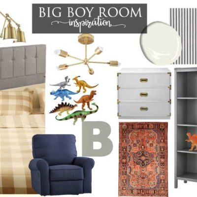 A Big Boy Room for Sweet B