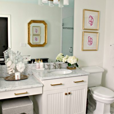 Final Reveal | Guest Bathroom Refresh {Primp and Pamper Bathroom Challenge}