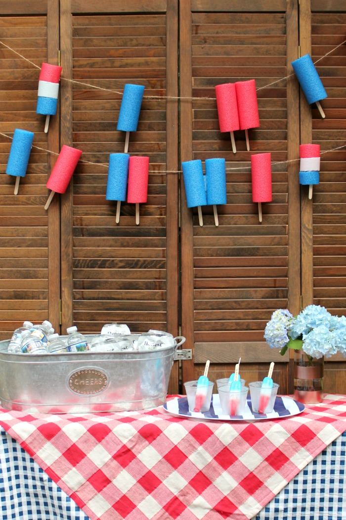 Popsicle Party DIY Decor