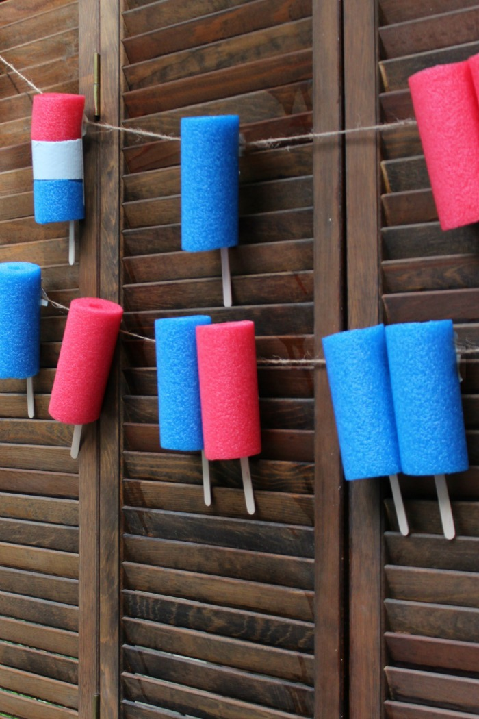 Popsicle Party DIY Decor- Popsicle Themed Birthday Party